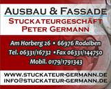 Logo von Peter Germann Stuckateur Inh. Anna Maria Germann